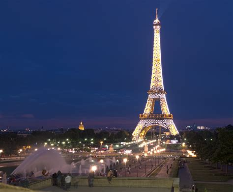 paris images file the eiffel tower at night paris france panoramio