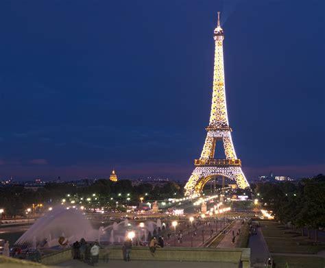 images paris file the eiffel tower at night paris france panoramio