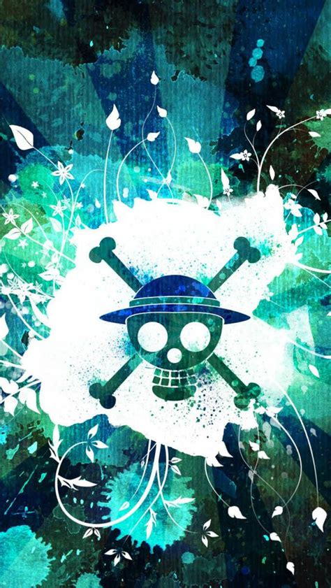 wallpaper iphone 5 one piece one piece skull