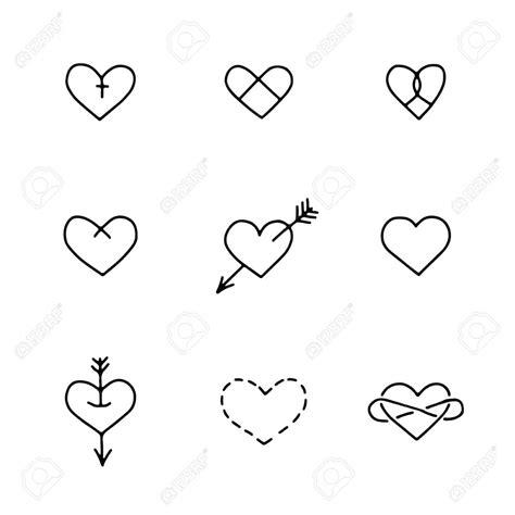 imagenes de corazones tatuados corazones tatuaje para tatuaje compra estrella del coraz n