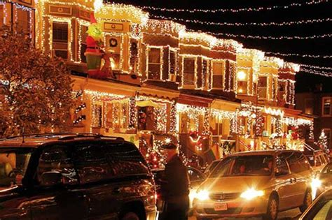 The Best Christmas Lights In America Baltimore Spokes Best Lights In Usa