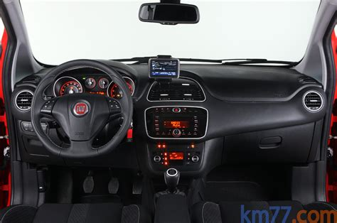 volante punto sporting fotos interiores fiat punto evo 5 puertas 2010 km77