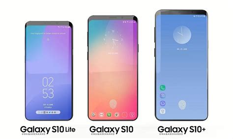 Samsung Galaxy S10 12gb Ram by Galaxy S10 With 12gb Ram Rumored Along With Six Colors 4000mah Battery And 93 4 Stb Ratio