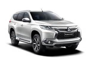 Mitsubishi Sport Montero Updated Mitsubishi Unveils All New 2016 Montero Sport In