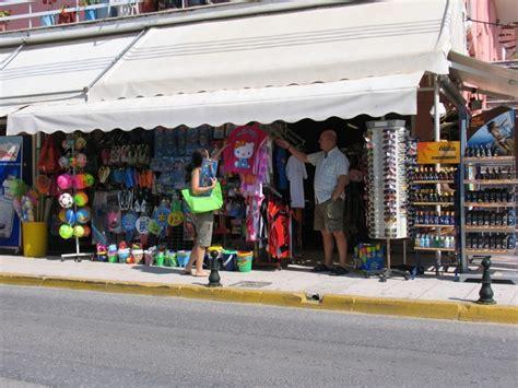 shopping ideas sidari shopping shops stores gifts presents souvenirs corfu by u