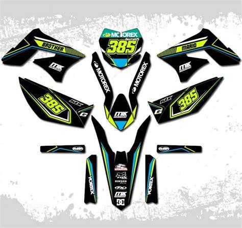 Cari Kawasaki Klx Ktm jual decal motor striping stiker custom klx dtracker yz