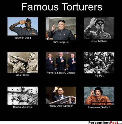 Dada Meme - famous torturers what people think i do what i