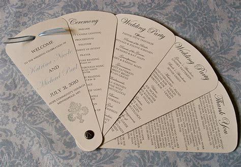 diy fan wedding programs home alterations 2020701 171 top