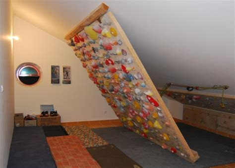 home climbing wall in my attic climbing thoughts