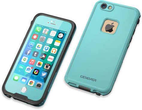 r iphone 6 waterproof cellever iphone 6 6s waterproof shockproof ip68 certified sandproof snowproof