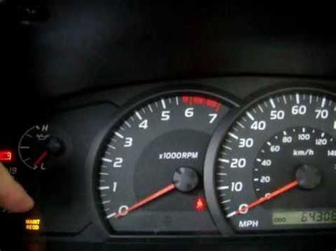 2007 Toyota Camry Reset Maintenance Required Light How To Reset The Maintenance Light On A 2006 Toyota Tundra
