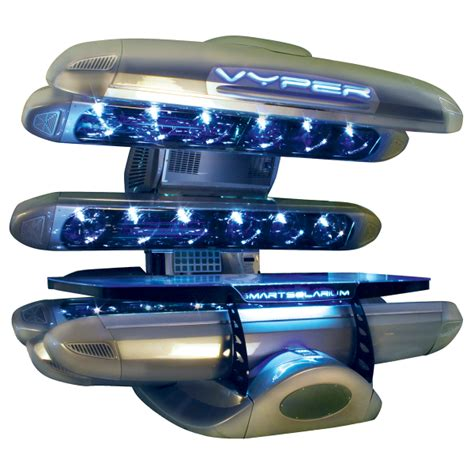high pressure tanning bed the vyper 360 tanning bed by smart solarium north america