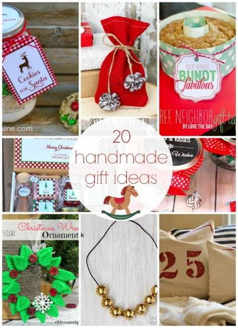 Ideas For Handmade Presents - 101 inexpensive handmade gifts i nap time