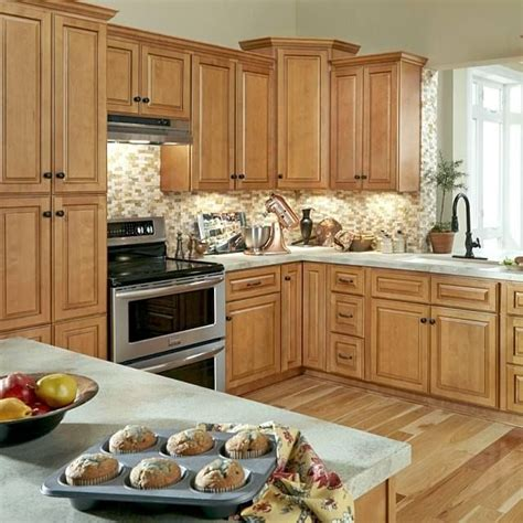 Caramel Kitchen Cabinets by Westminster Glazed Toffee Kitchen Cabinets Rich