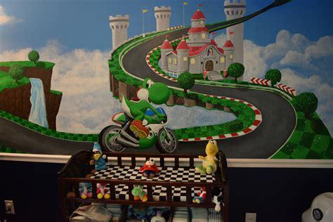Chambre Mario by D 233 Co Chambre Mario Kart