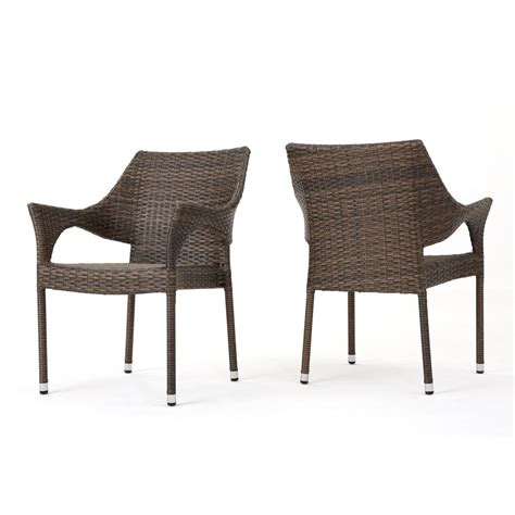 stackable outdoor dining chairs hton bay mix and match stackable sling outdoor dining