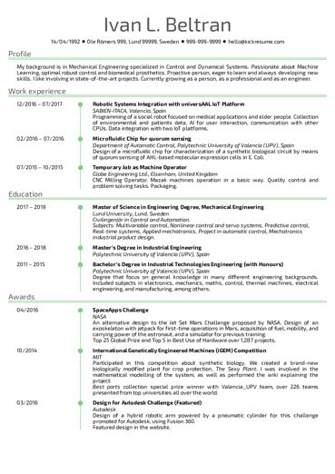 resume samples examples brightside resumes