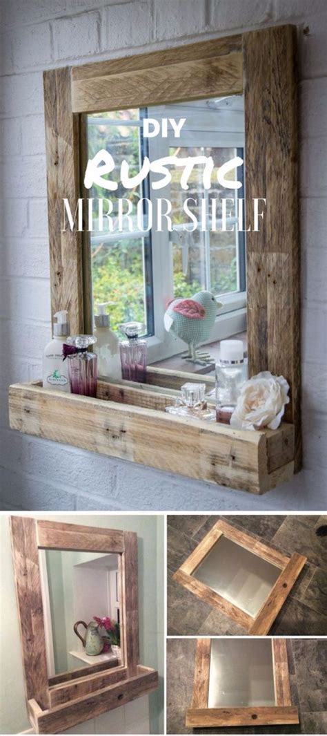 rustic mirrors home decor 41 diy mirrors you need in your home right now rustic