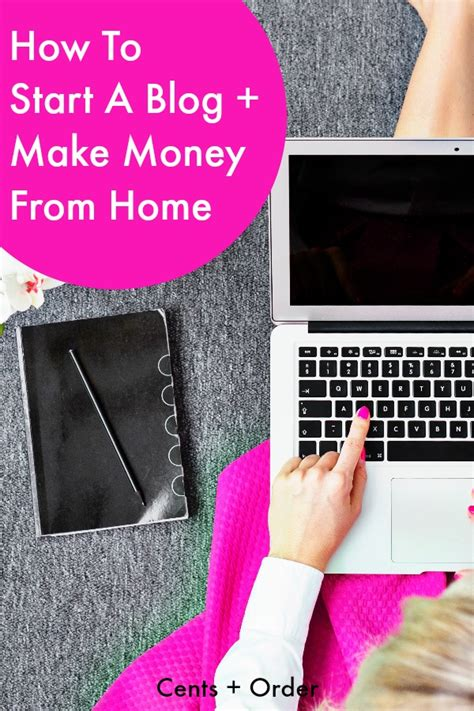 how to start a to make money from home