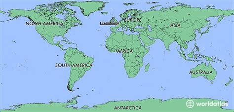 where is luxembourg on the map where is luxembourg where is luxembourg located in the