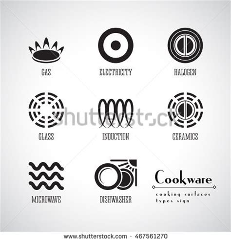 induction cooking compatible symbol induction stock images royalty free images vectors