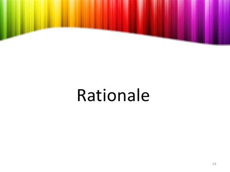 rationale meaning in thesis dissertation rationale