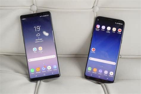 Samsung Note 8 Vs S8 test samsung dex le galaxy s8 peut il remplacer un ordinateur