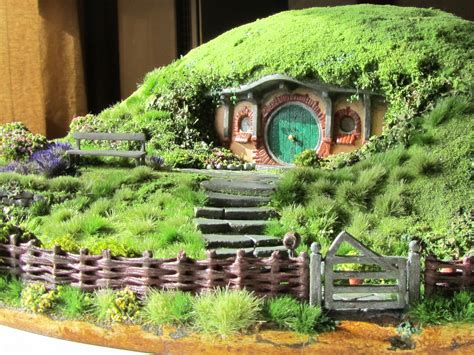 Pictures Of Beautiful Gardens For Small Homes by My Wee Bag End Model Hobbit Bag End Model Blog