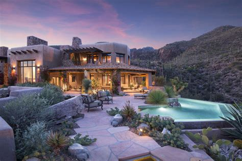 luxury homes in tucson az meet the treasure of tucson a jaw dropping 9 9m desert retreat known as villa esperero