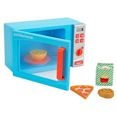 just like home talking microwave oven blue garden