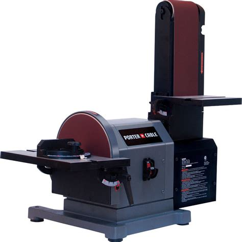 bench top belt sander shop porter cable 5 amp benchtop sander at lowes com