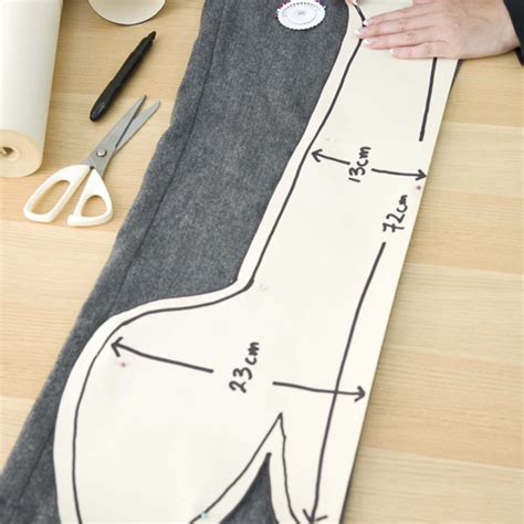 cat door stopper pattern yourhome projects doggy draught excluder