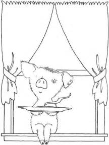 If You Give A Pig Pancake Coloring Pages  AZ sketch template
