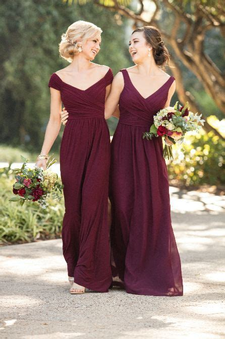 Best 25  Maroon bridesmaid dresses ideas on Pinterest