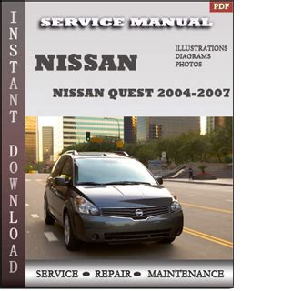 security system 2004 nissan quest parental controls 2004 2007 nissan quest v42 service repair manual