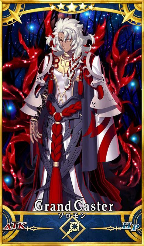fate grand order card template caster image solomon png fate grand order wikia fandom