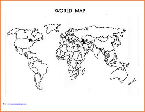 printable world map with country names black and white world map template printable blank world map countries