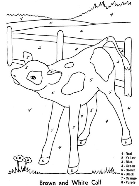 color by numbers animals coloring pages color by numbers coloring pages download and print color