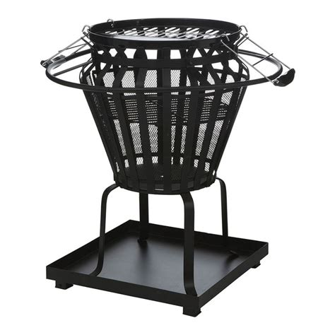 diy pit bunnings black brazier pit bbq things to make