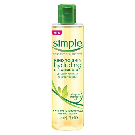 Simple Detox Cleanse by Buy To Skin Hydrating Cleansing 125 Ml By Simple