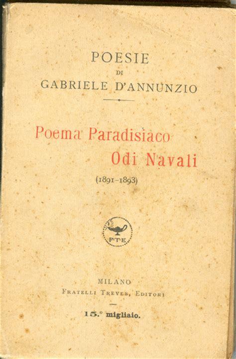 consolazione d annunzio ebook pdf gratis d annunzio gabriele poema paradisiaco