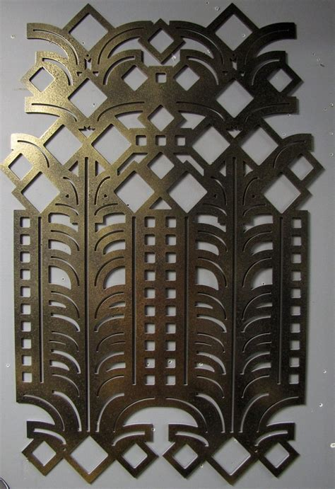 art deco wall decor deco metal wall art pattern inspiration pinterest
