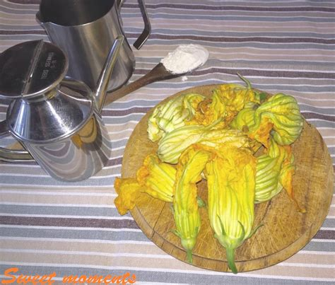 pizzette di fiori di zucchine pizzette di ciurilli sweet moments ricette