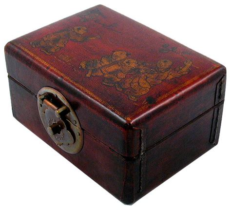 Decorative Boxes For by Shop Houzz T Trove Decor Leather Rectangular