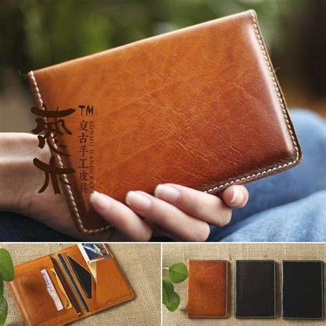 Handmade Leather Passport Cover - bag baby picture more detailed picture about