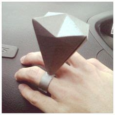 Origami Wedding Ring - diy on origami favor boxes and