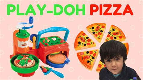 Doh Pizza play doh pizza how to make and learn colors with play doh