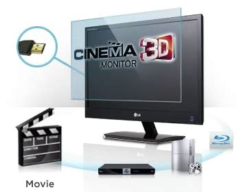 Lg Cinema 3d Monitor D2342p lg cinema 3d monitor d2342p 23full hd 3d led monitor