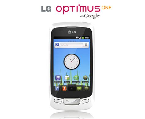 Hp Lg P500 gsm lg optimus one p500