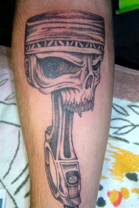 piston tattoo http www bg blank html piston